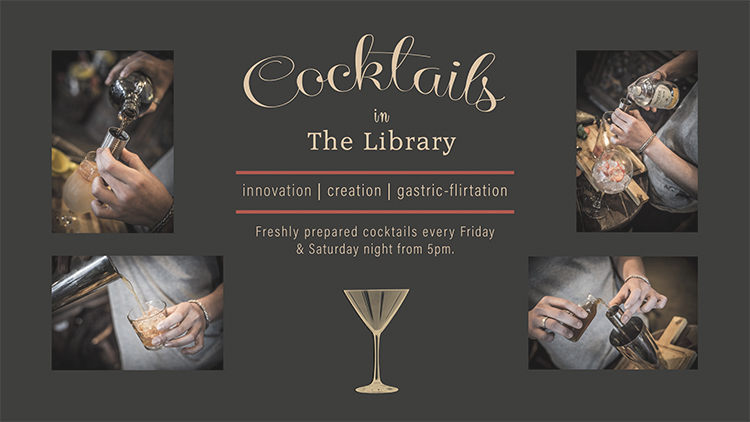Cocktail banner fade
