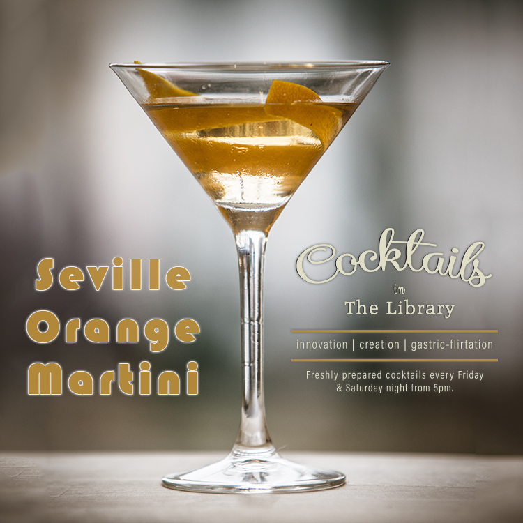 Seville Orange Martini