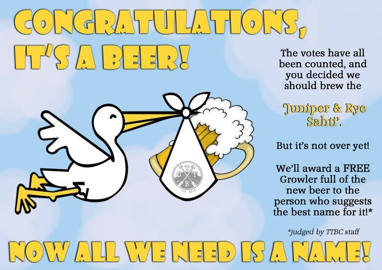 congrats new beer web